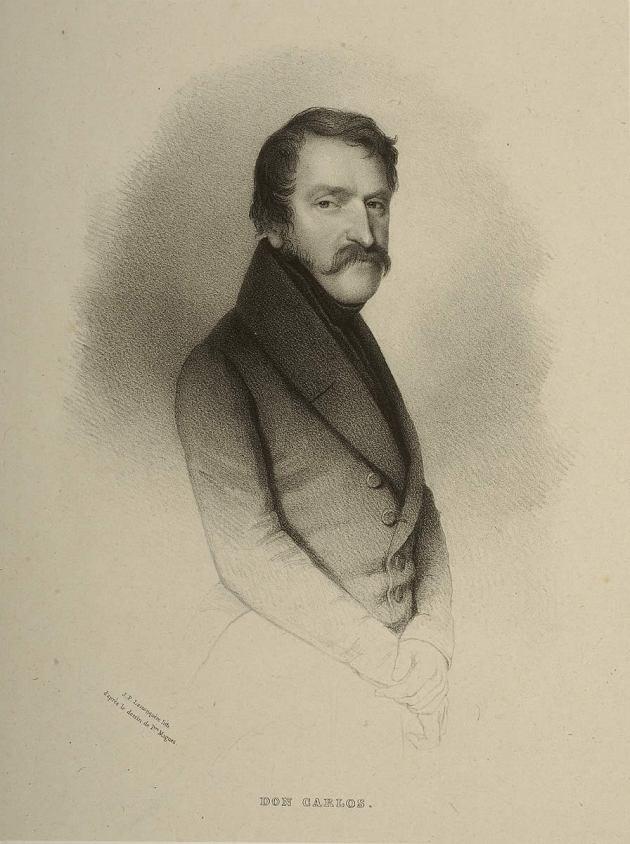 Retrato de Carlos V, en semiperfil
