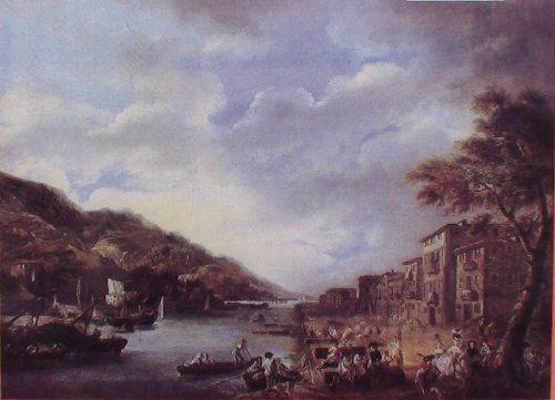 Ribera de Deusto en el Siglo XVIII, en Zorrozaurre