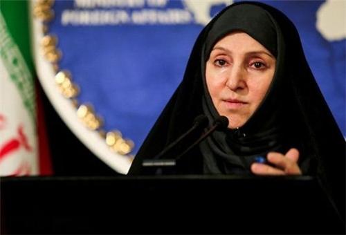 Marziyeh Afkham, portavoz del ministerio de asuntos exteriores iraní.
